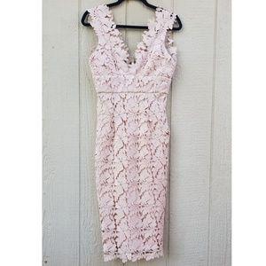 NWT Bardot Valeria Sleeveless Sheath Dress Lace